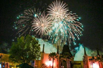 Star Wars Dessert Fireworks Hollywood Studios