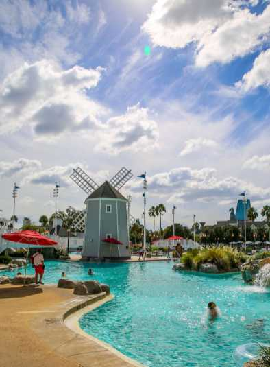Disney's Yacht Club Resort and the Disney Beach Club offer easy access to Epcot.