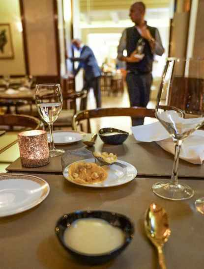 Hotel Grand Minerva restaurant