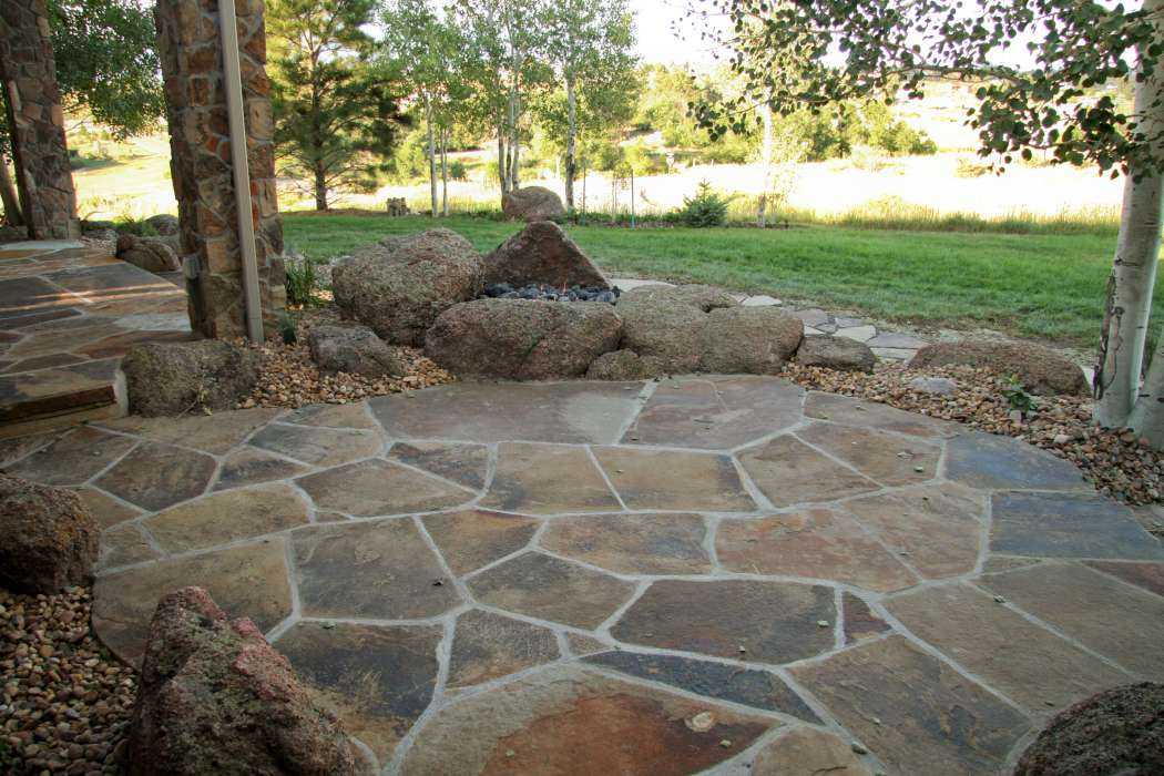 Inspiring Flagstone Patio Design Ideas  Patio Design #190