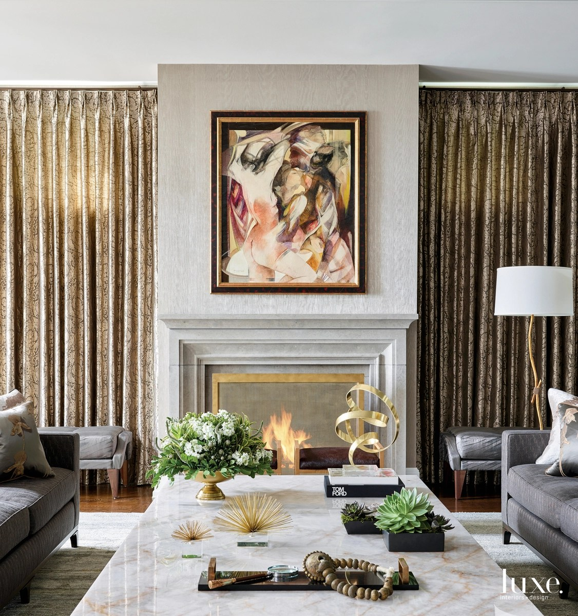 A Traditional Residence Gets A Dose Of Sophistication Luxe