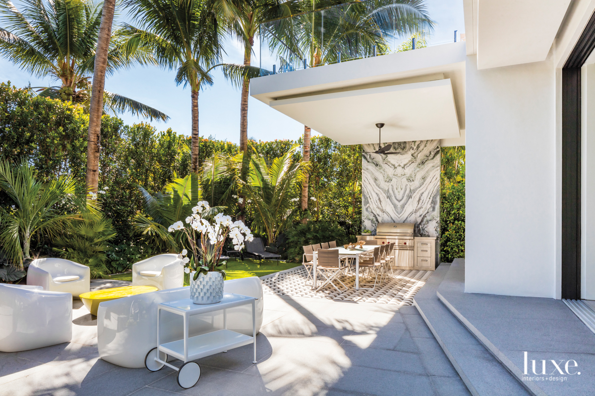A Design Duo Thinks Outside The Box For A Miami Home Luxe