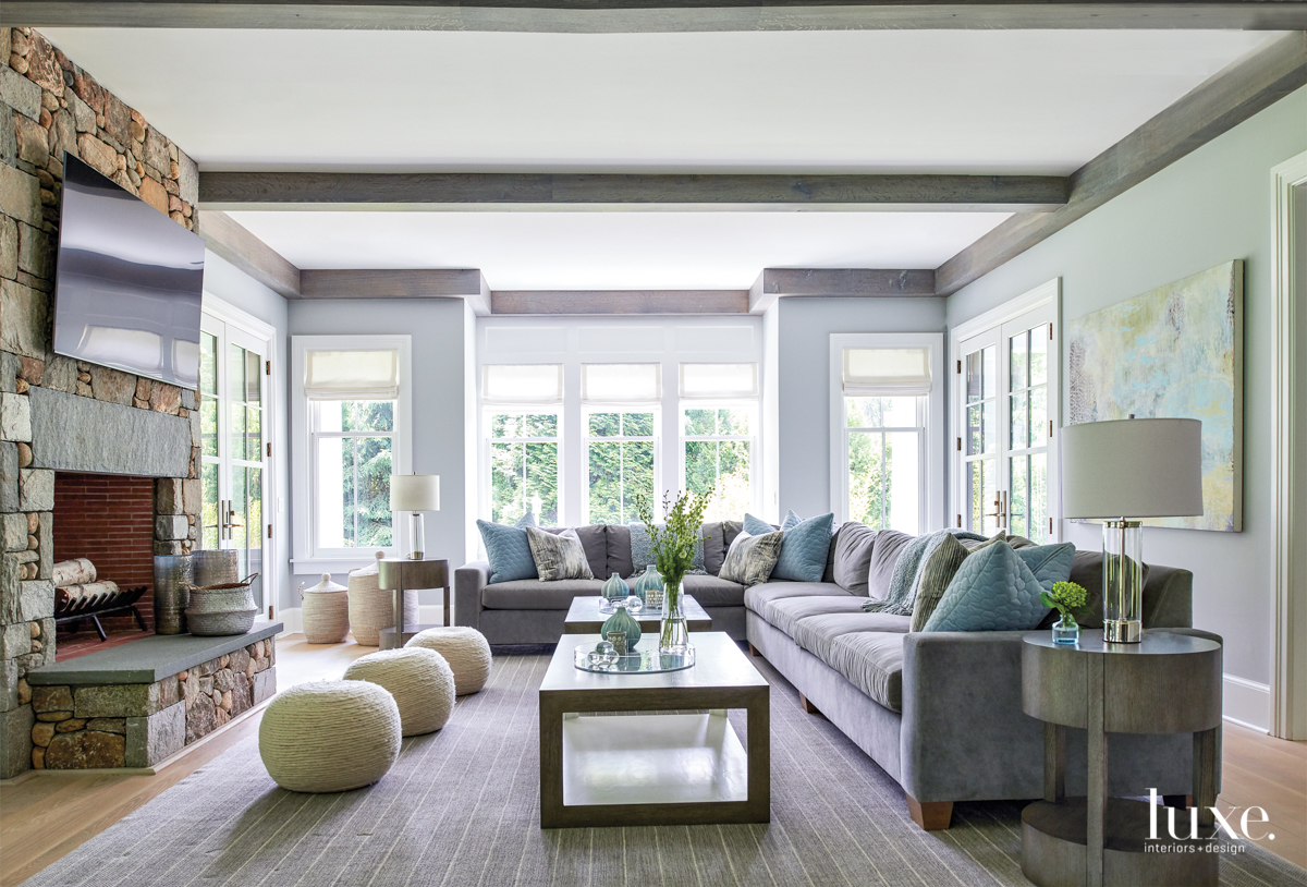 Clever Scaling Makes A Large House Feel Welcoming Luxe