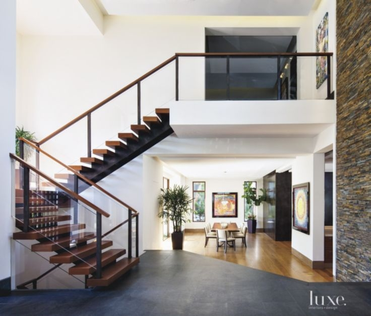 17 Modern Staircases To Step Up Your Inspiration Luxe Interiors | House Interior Steps Design | Living Room | White | Architecture | Small | Low Cost