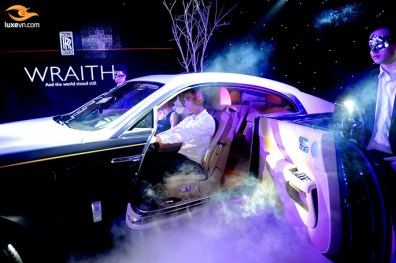 Rolls-Royce Wraith Launching in Hanoi