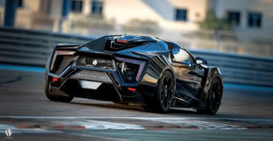 Lykan Proto Zero on track