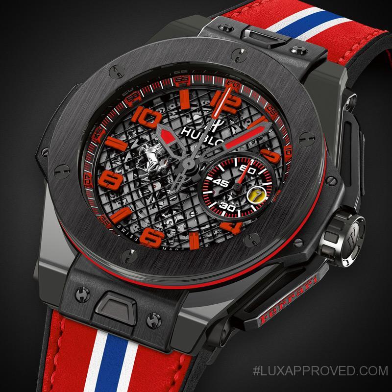 hublot big bang ferrari racing watches. Black Bedroom Furniture Sets. Home Design Ideas