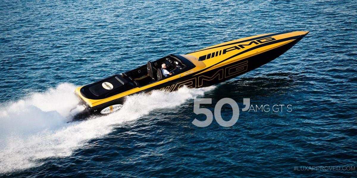cigarette racing x mercedes amg 50 39 marauder gt s boat. Black Bedroom Furniture Sets. Home Design Ideas