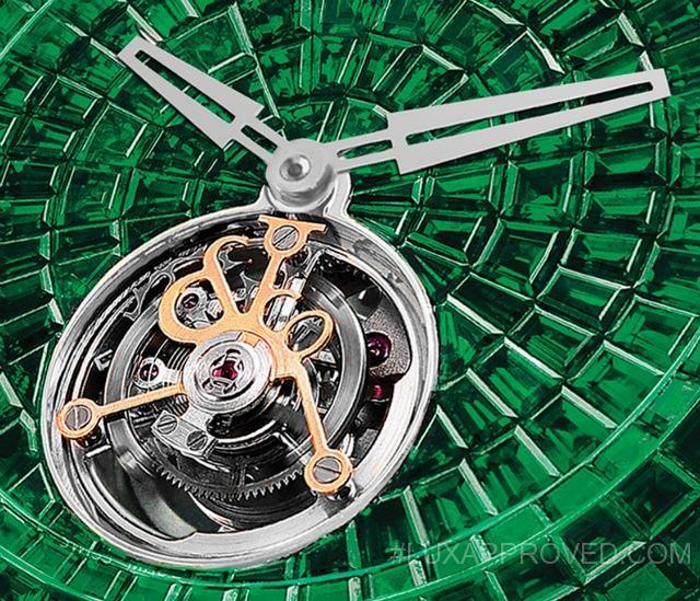 Jacob & Co Caviar Emerald Tourbillon replica watch