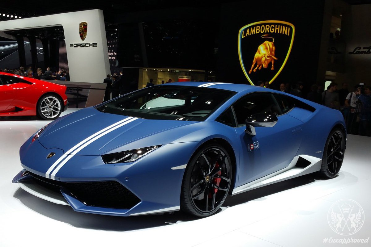 Lamborghini Huracan Lp 610 4 Avio Is Inspired By Fighter Jet Lux
