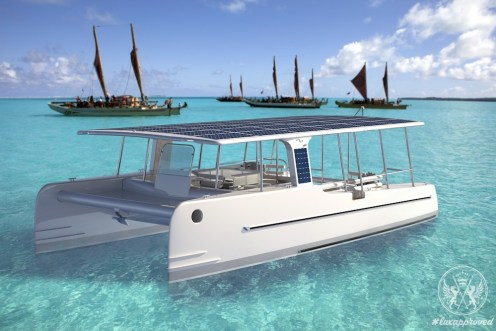 Meet the SoelCat 12, the Eco-Friendly Solar-Powered Luxury Catamaran