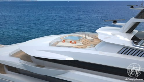 Horacio Bozzo Designs the 120m Private Bay Concept for Fincantieri Yachts