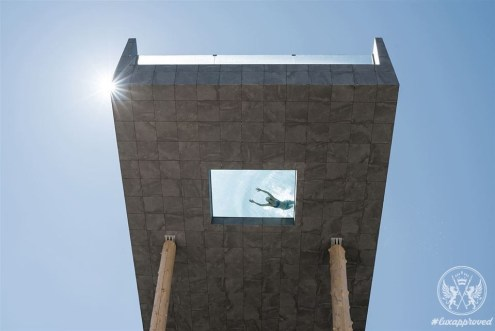 The Hubertus Hotel Dazes with Glass-bottomed SkyPool