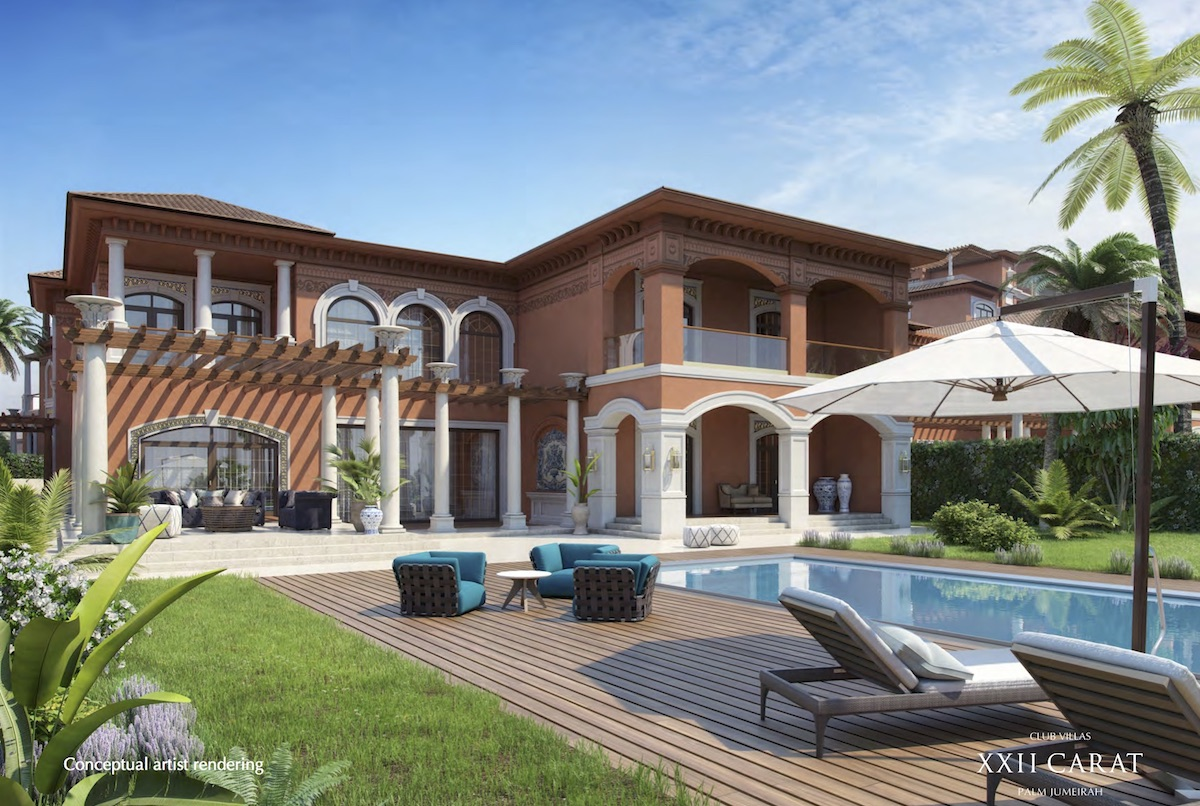 XXII Carat Villas on Palm Jumeirah Island, Dubai