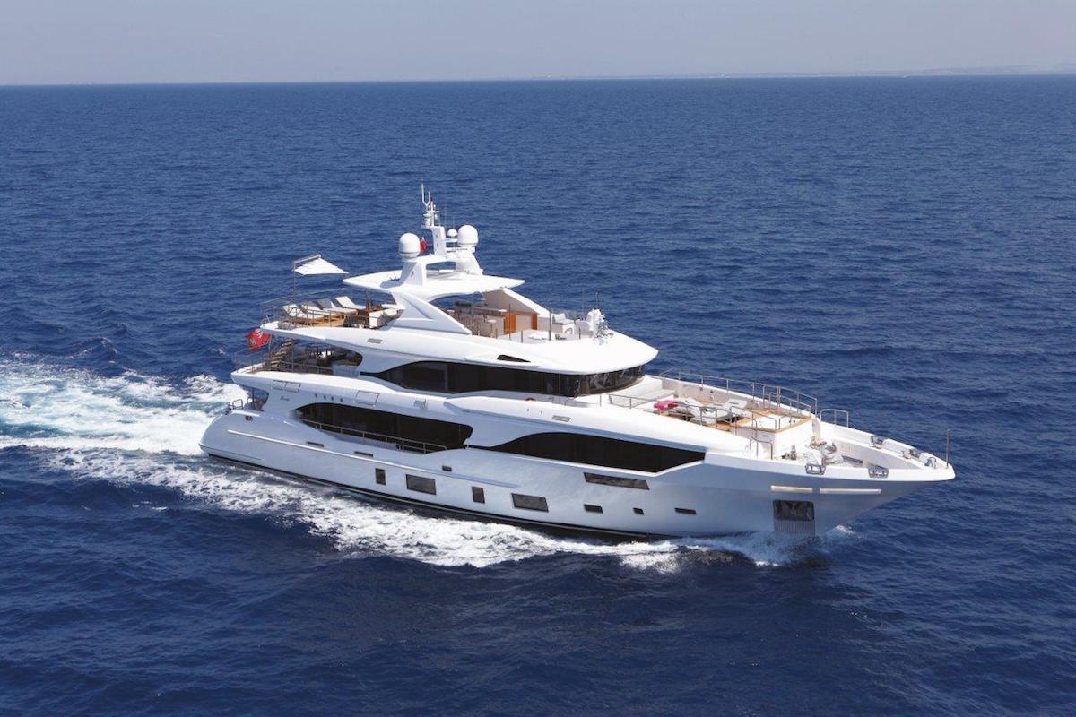 Benetti Mediterraneo 116' M/Y OLI Boasts the Comfort of a Cruise Ship