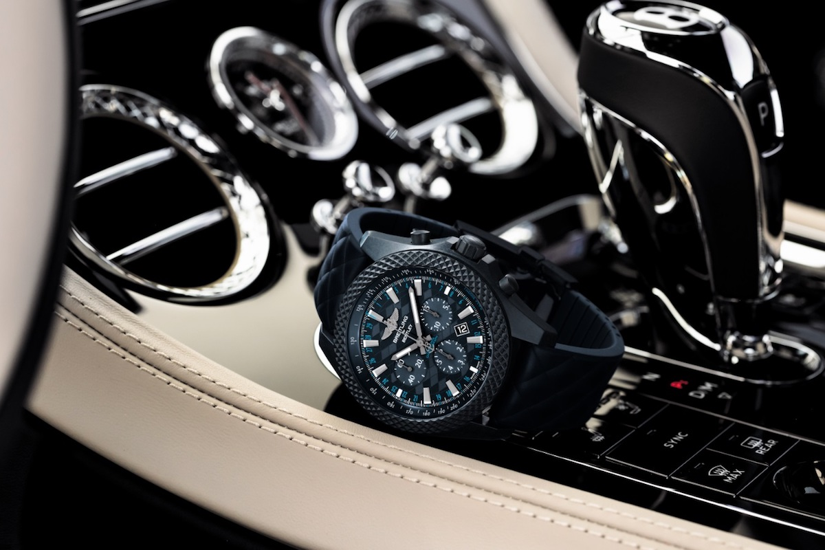 Breitling for Bentley GT Dark Sapphire Edition Watch