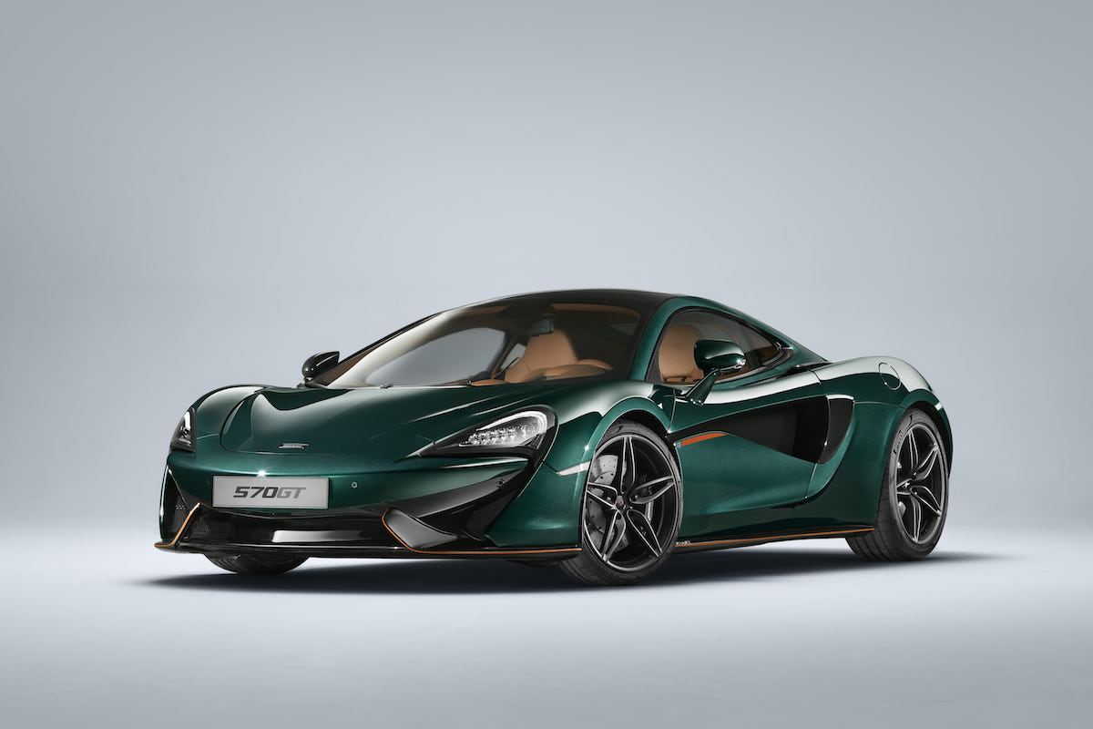McLaren Special Operations Creates Six Bespoke McLaren 570GT Models