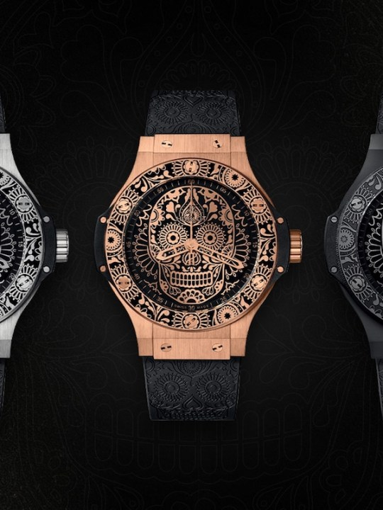 Hublot Pays Tribute to El Día de los Muertos with Three Big Bang Calaveras