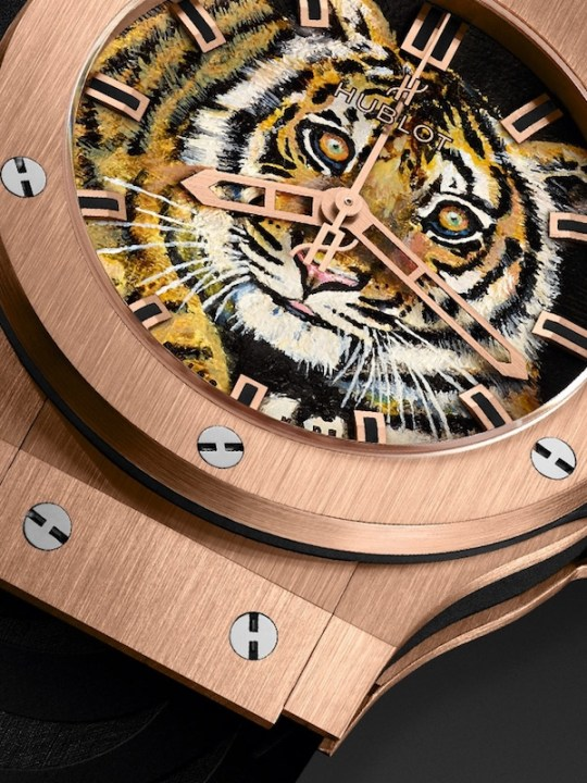 Hublot Auctioned Off Watches Inspired by the Black Jaguar-White Tiger Foundation