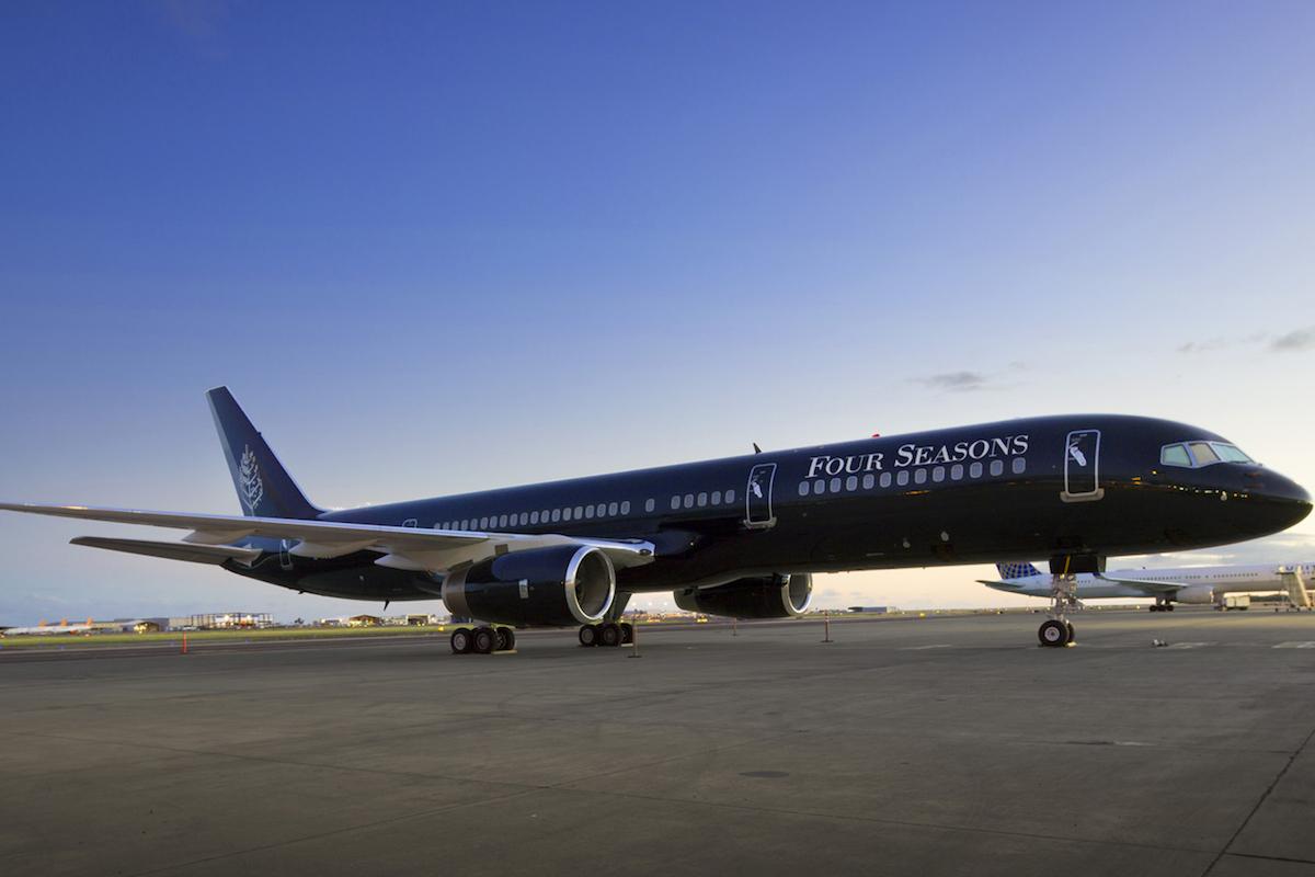 Latin Escape Adventure Aboard Four Seasons Private Jet