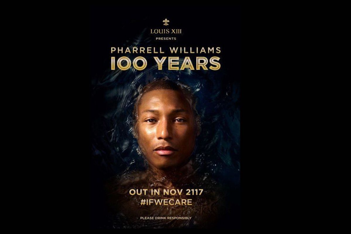 LOUIS XIII Cognac & Pharrell Williams Created a Song That We'll Hear In 2117