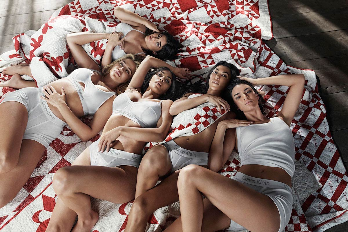 Kim, Khloé, Kourtney, Kendall & Kylie Lead Calvin Klein Underwear Campaign