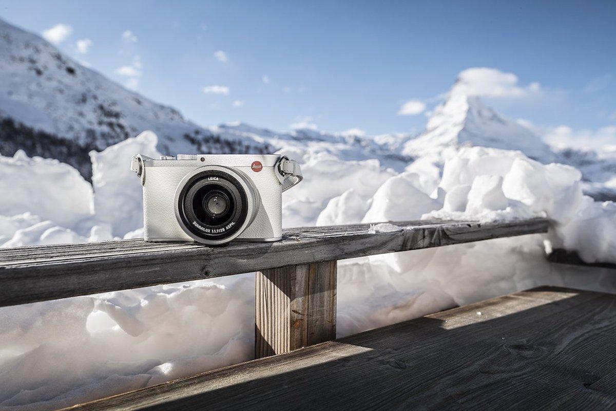 Leica Q Snow By Swiss Olympic Gold Medallist Iouri Podladtchikov C Lux Digital Camera Light