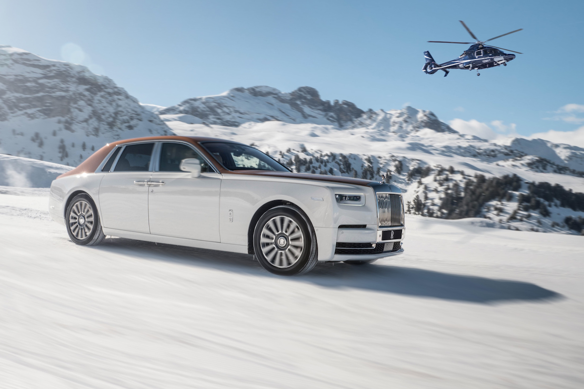 Engage with Rolls-Royce in Courchevel and St. Moritz