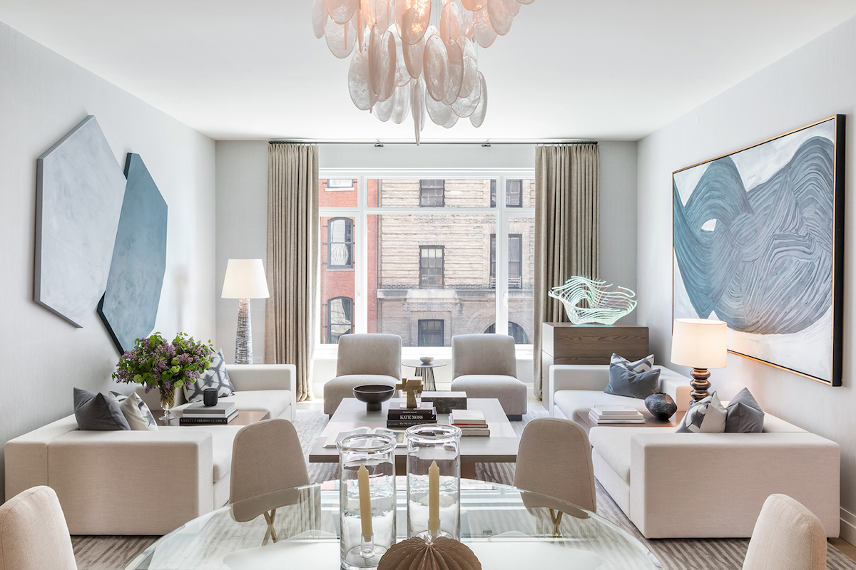 First Model Residence Inside 70 Vestry, Related\'s Record-Breaking ...