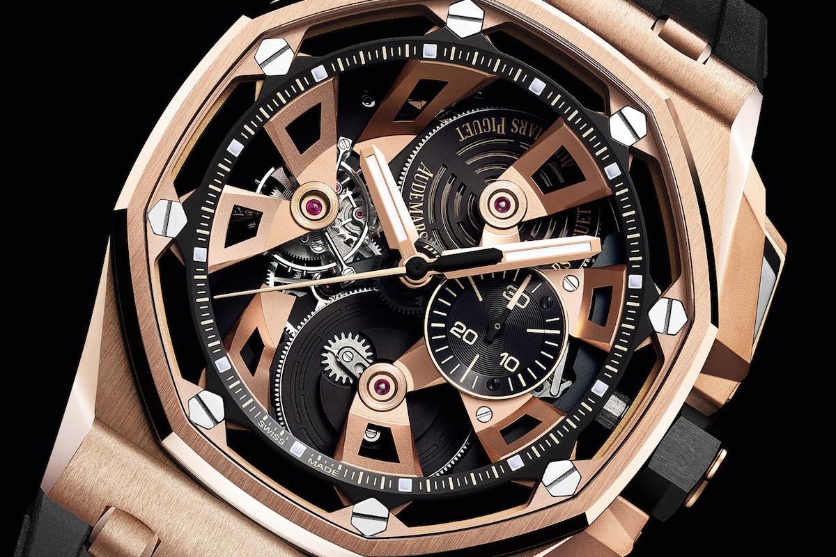 Audemars piguet royal oak offshore tourbillon chronograph for Royal oak offshore n7243