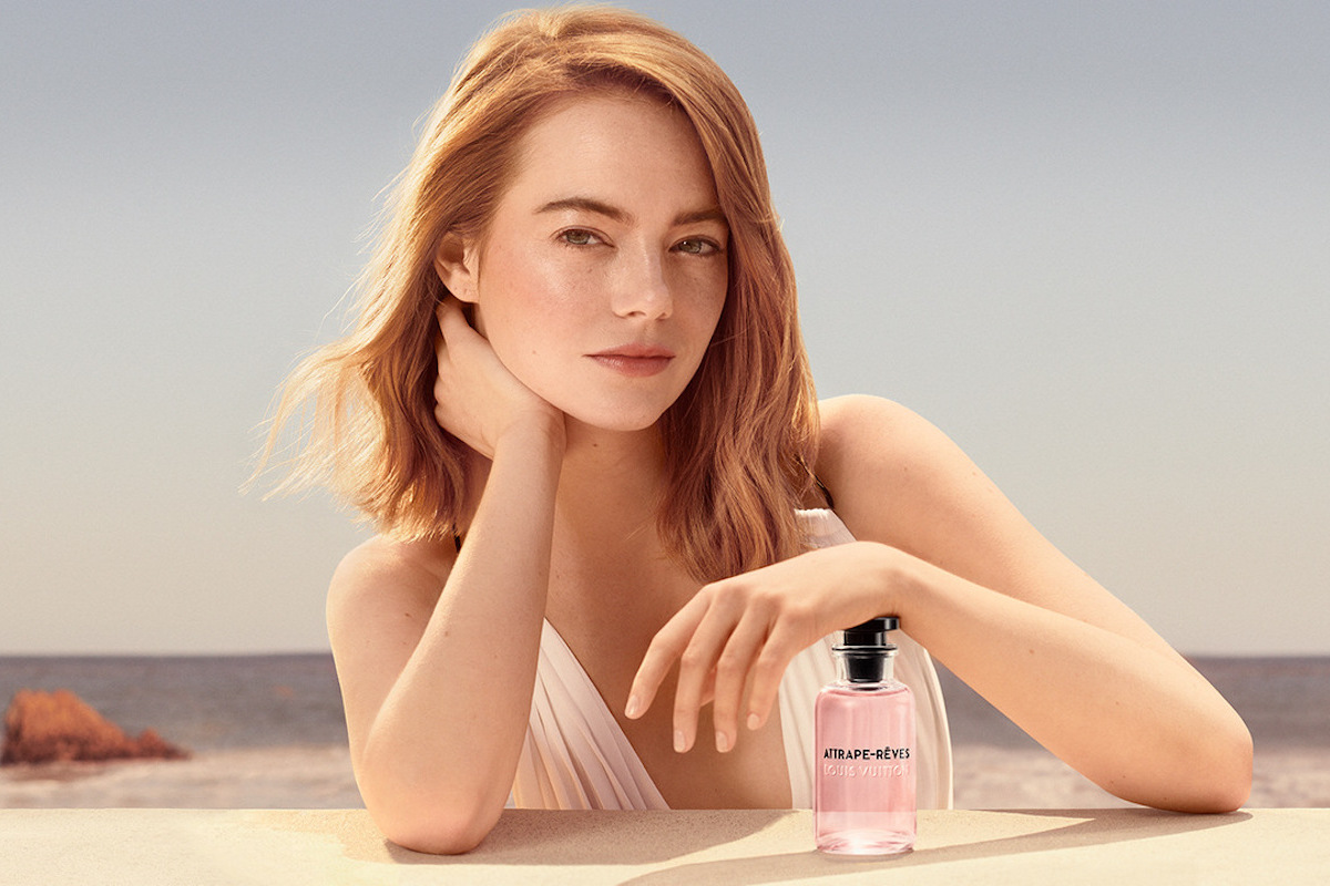 2cff1a1beb Emma Stone Is the Face of Les Parfums Louis Vuitton