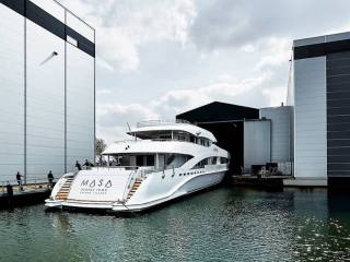 Heesen Yachts Launched the Eighth Yacht in 5000 Aluminium Class