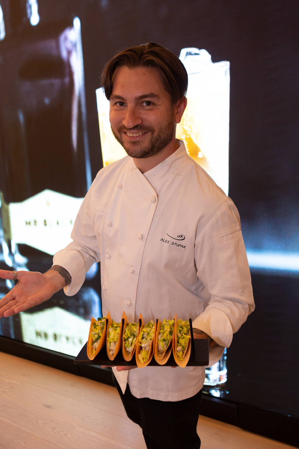 Taco Time with Chef Alex Stupak at Waterline Square