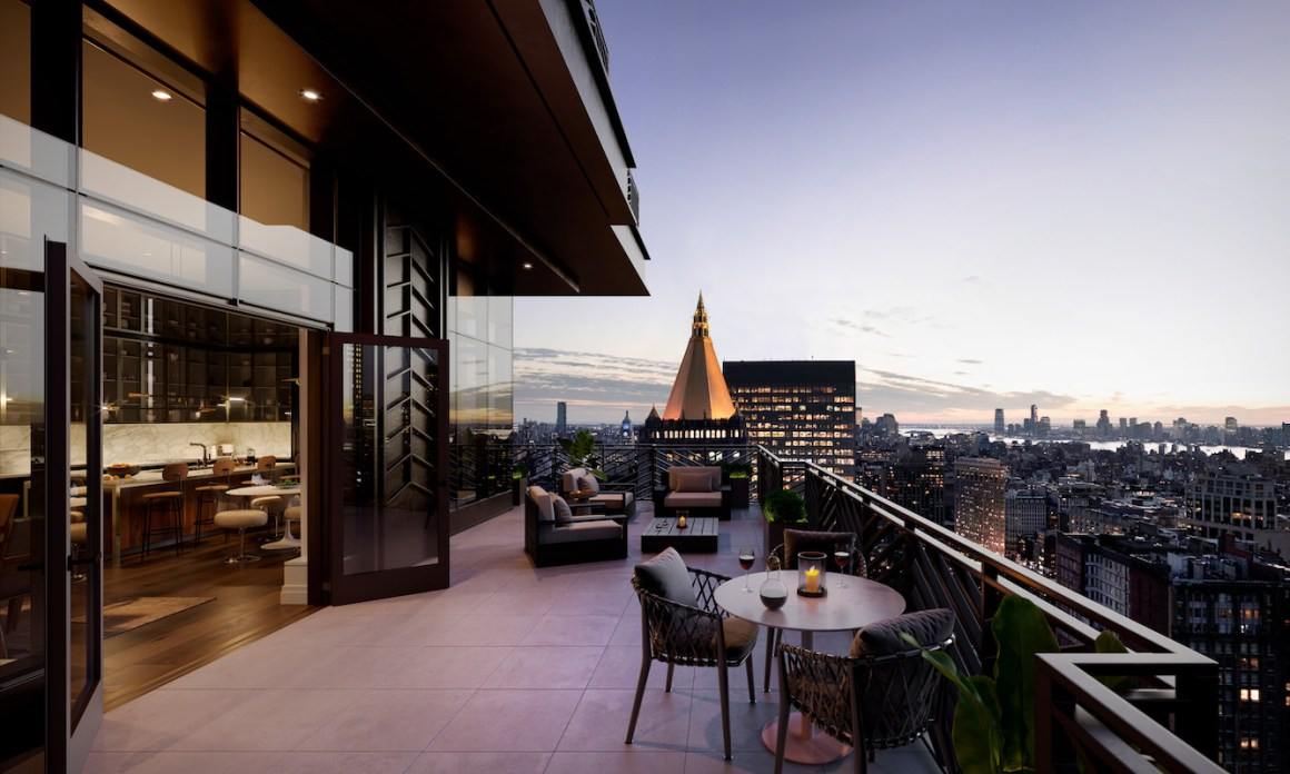 Rockefeller Group Unveiled the $18.75M Penthouse at NoMad's Rose Hill