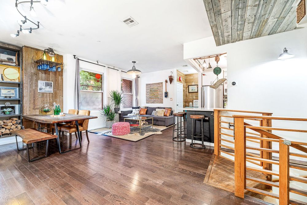 Boerum Hill City Sanctuary with a Serene Backyard & Private Staircase Is Yours for $1.474M