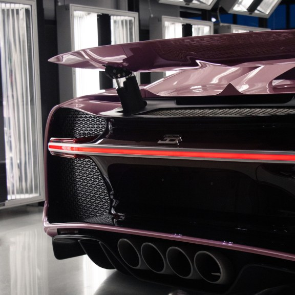 Nothing Says I Love You Like a Unique Bugatti Chiron Sport