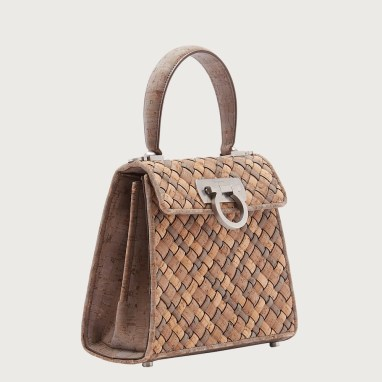 Ferragamo Earth Top Handle Bag and F-80 Skeleton Sustainable