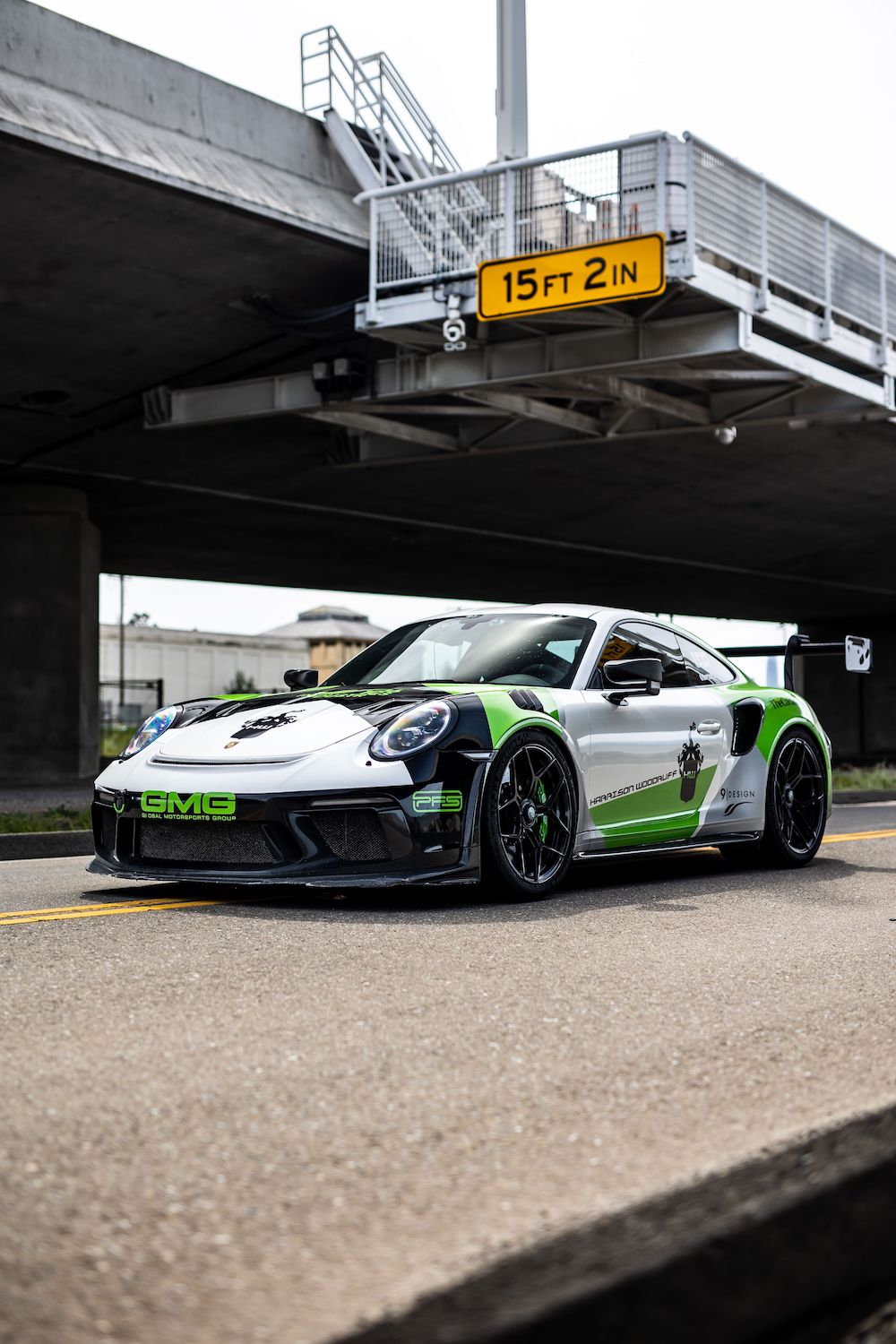 GMG & 1016 Industries Create Ultimate GT3 RS Rally Car