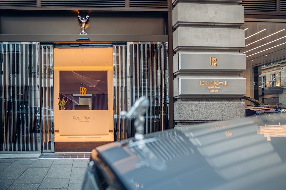 Rolls-Royce Opens a New Flagship Store in London's Mayfair