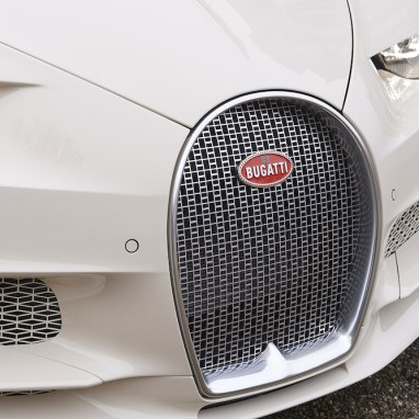 A Truly Unique Bugatti: the Chiron habillé par Hermès