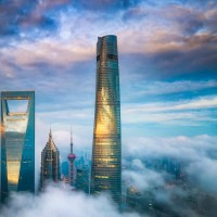 J Hotel Shanghai Tower Debuts Atop the Second-Tallest Skyscraper in the World