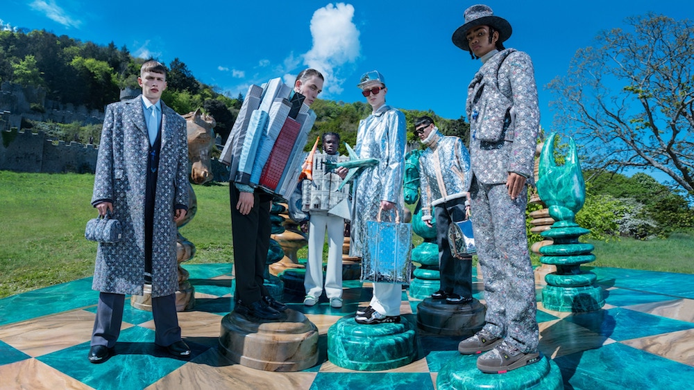 A Game of Chess in Louis Vuitton Men's Fall-Winter 2021 Campaign