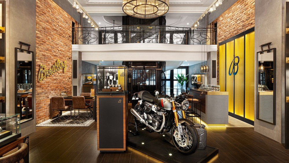 Breitling and Triumph Partner to Reveal a Limited-Edition Watch and a Customized Motorcycle