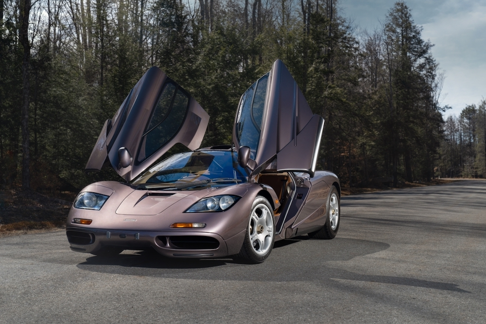 Unique McLaren F1 Road Car Sells for $20.5M at Gooding & Company's Pebble Beach Auctions