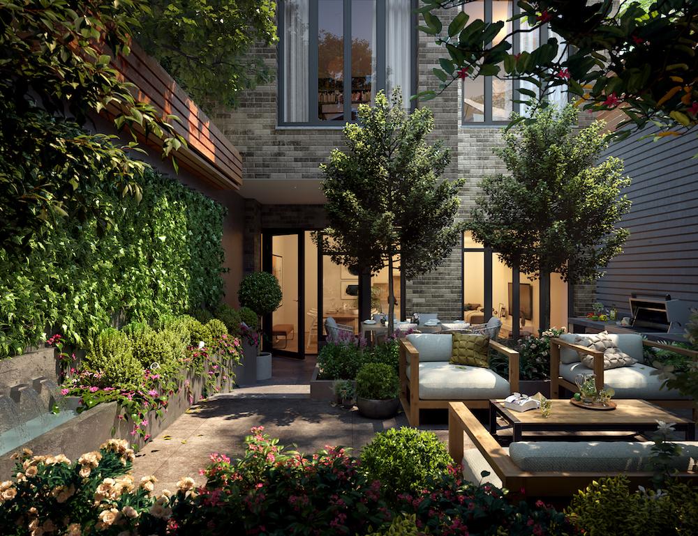 Deborah Berke's Boutique Condo 40 East End Lists 3-floor Maisonette