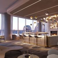 Sip on an Autumnal Treat in Lavish Lounges Inside NYC Upscale Condominiums