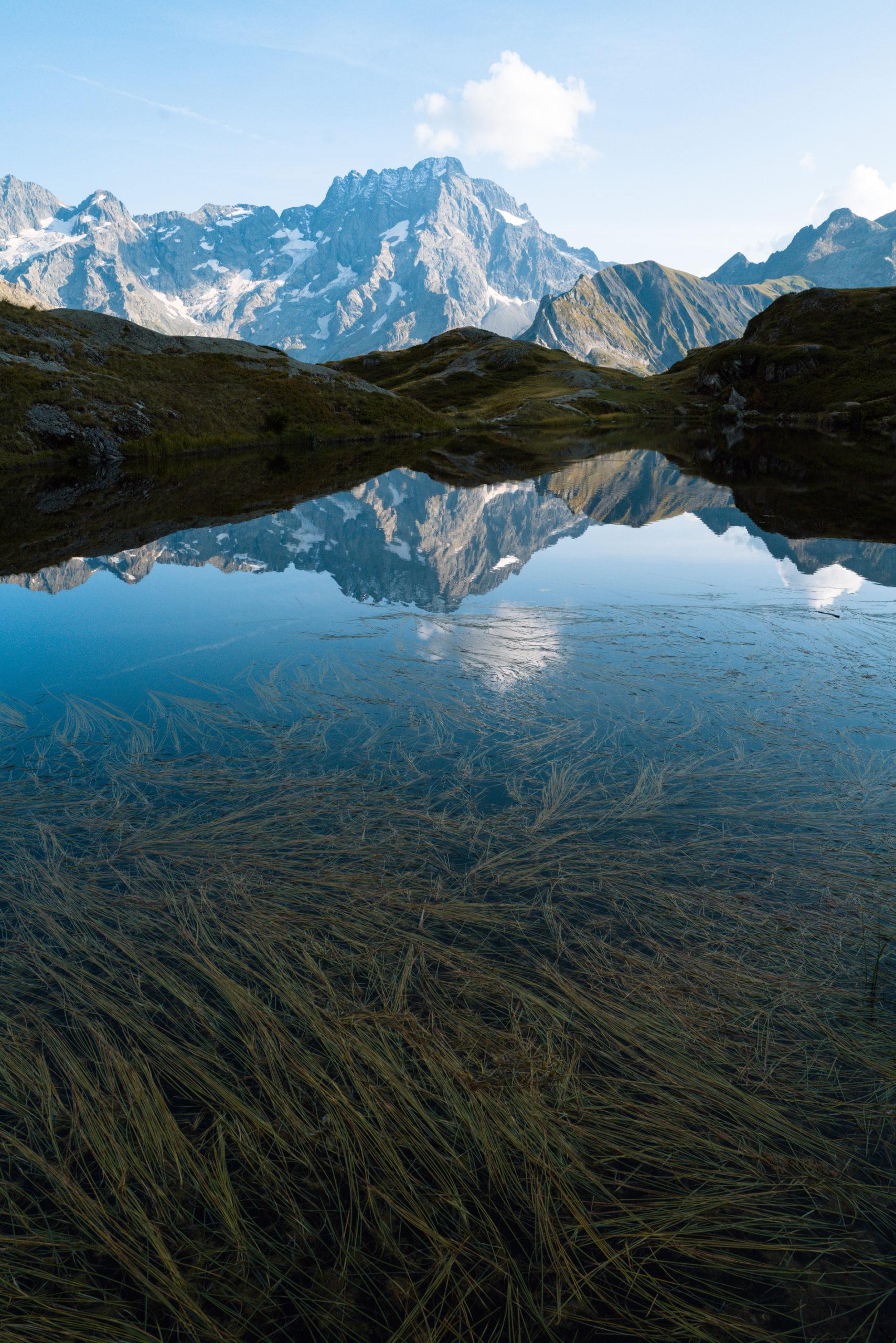 Reflets lac du Lauzon