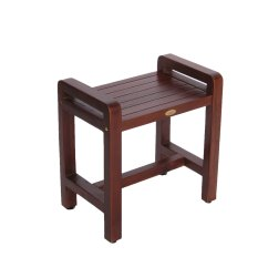 Teak Shower Chairs With Arms Fishing Chair Stool Lux Home Discount Plumbing And Hardware Kitchen Bath