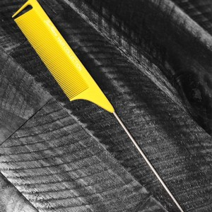 Yellow Precision Parting Comb