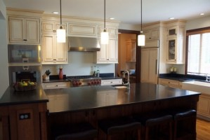 25 Awesome Honed Black Granite Countertop Ideas For ...
